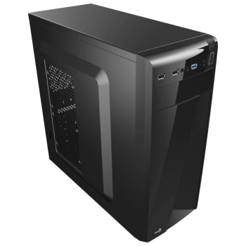 MidiTower Aerocool CS-1101 Black, ATX, без БП