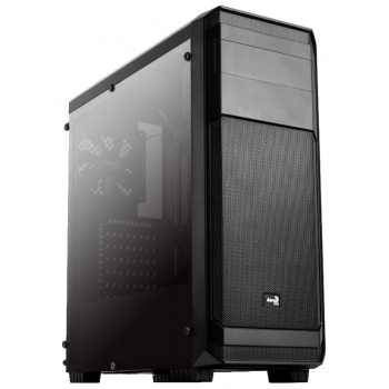 MidiTower Aero-300 FAW Black Edition, ATX, без БП, окно