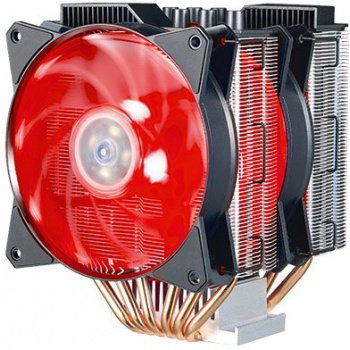 Кулер Cooler Master MasterAir MA620P MAP-D6PN-218PC-R1 All Socket алюминий 2*120mm 600-1800rpm 31дБ 53.4 CFM 4-pin PWM BOX