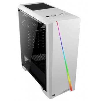 Корпус ATX AEROCOOL Cylon, Midi-Tower, без БП, черный [cylon bk]