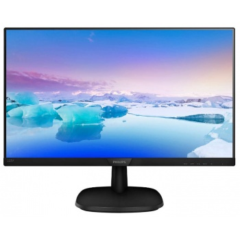 "LCD PHILIPS 21.5"" 223V7QHSB (00/01) черный {IPS, 1920x1080, 5 ms, 178°/178°, 250 cd/m, 10M:1 D-Sub HDMI}"